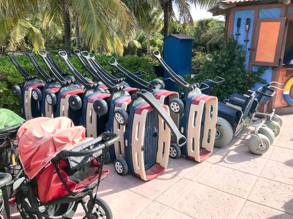 Castaway Cay Beach Stroller Wagons Wheelchairs