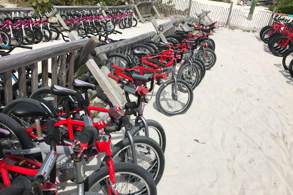 Castaway Cay Bike Rentals
