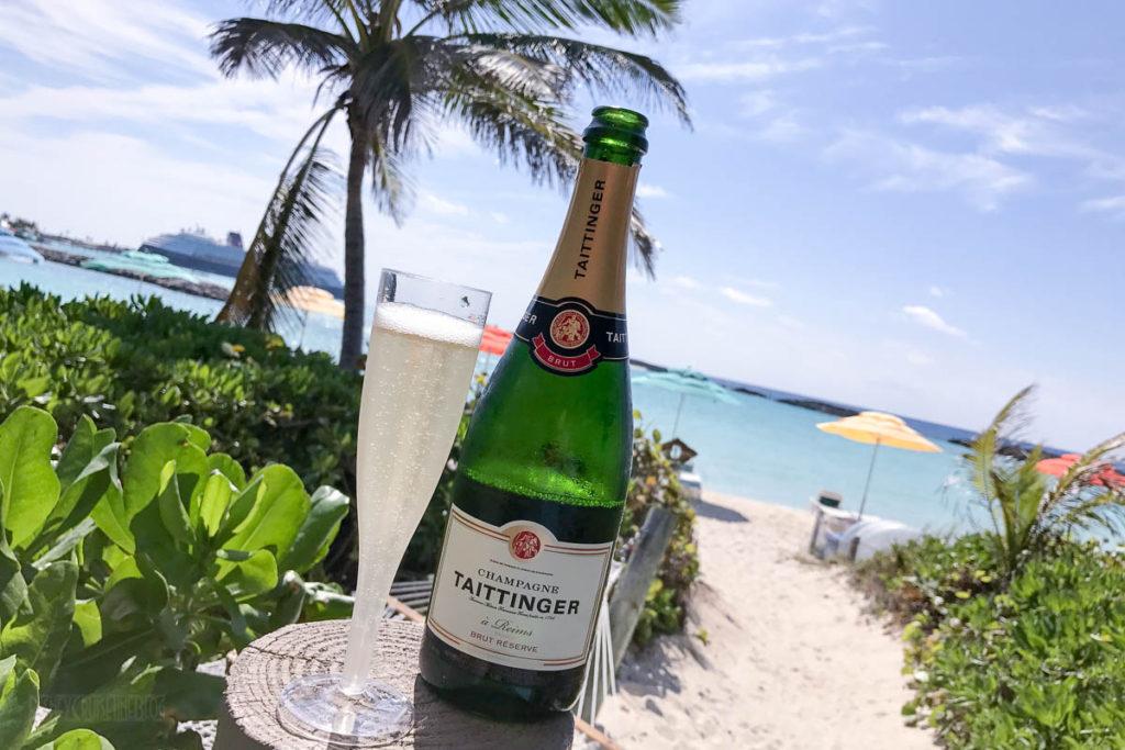 Castaway Cay Cabana Taittinger