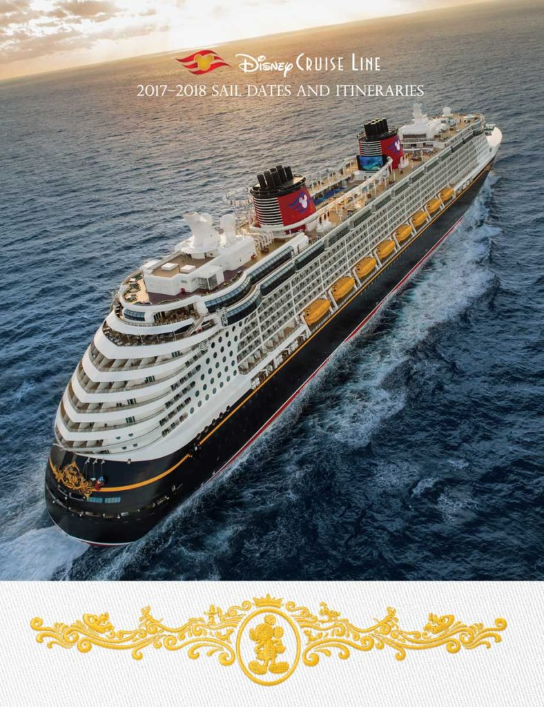 DCL Itinerary Brochure February 2017 2018 Summer Dates Cover
