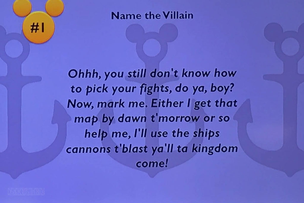 DCL Villains Trivia Question 1