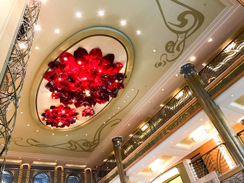 Disney Wonder Atrium Chandelier