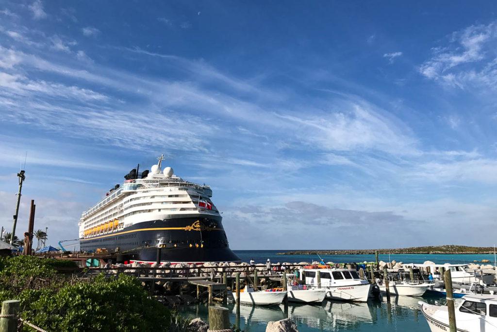 Disney Wonder Castawy Cay