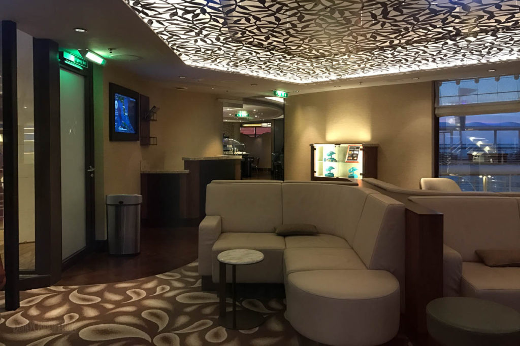 Disney Wonder Concierge Lounge