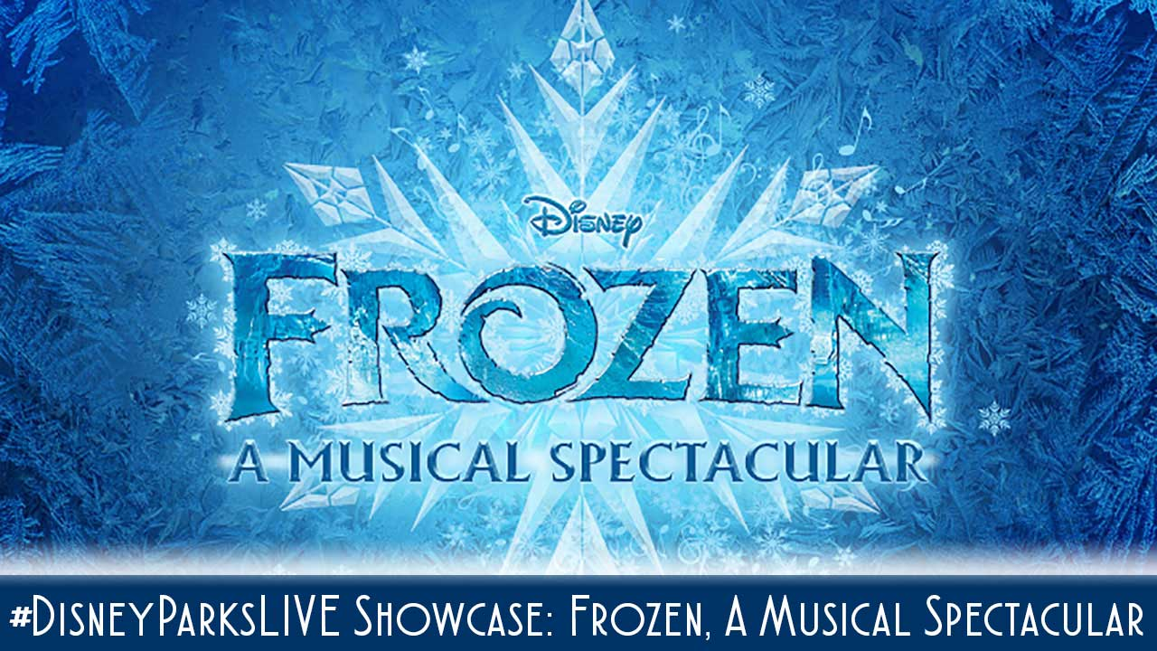 Frozen Disney Wonder Disney Parks Live Sneak Peek