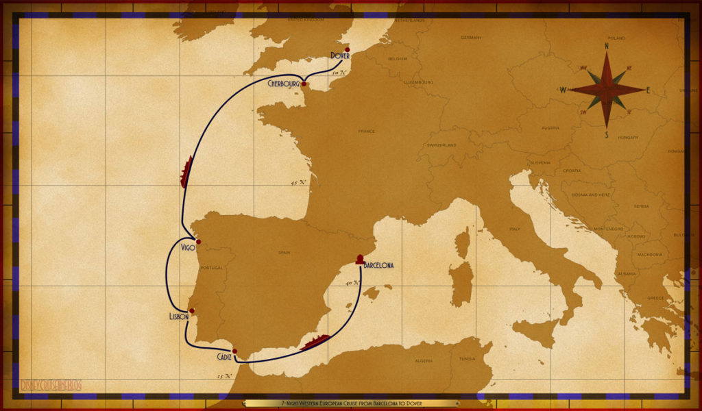 Map Magic 7 Night Western European Repo Barcelona Dover