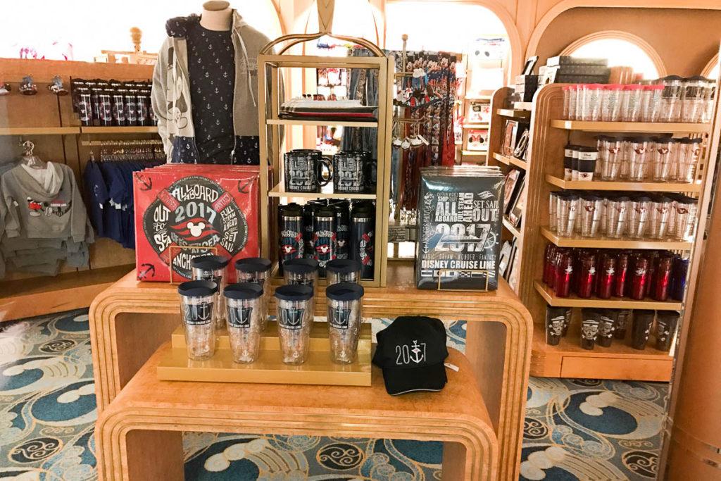 Mickey's Mainsail Window Shopping
