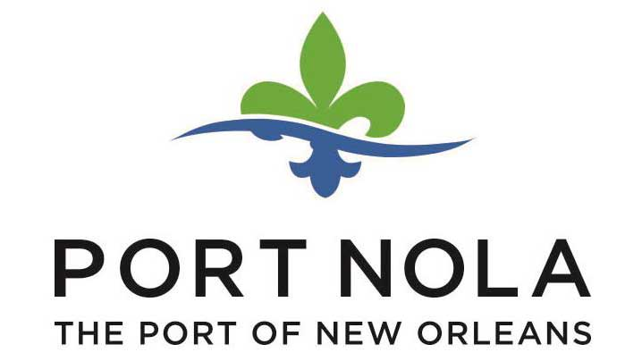 Port New Orleans NOLA Logo