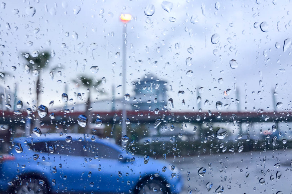 Raining Morning At Port Canaveral