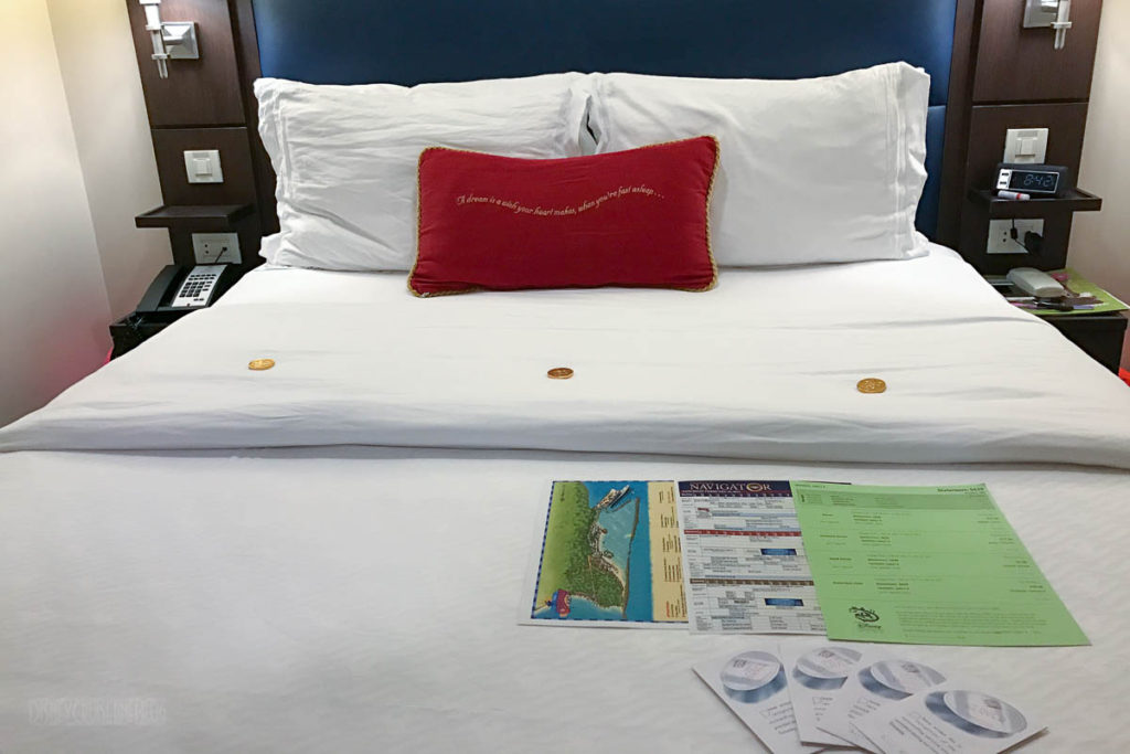 Stateroom Bed Turndown Service