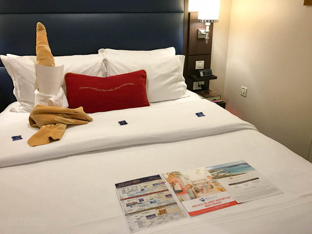 Stateroom Turndown Towel Dude