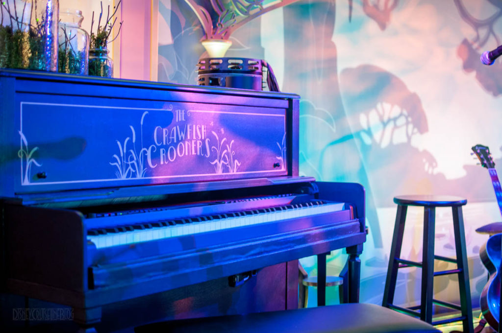 Tiana's Place Crawfish Crooners Piano