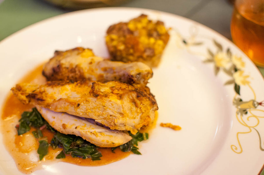Tiana's Place Roasted Creole Half Chicken