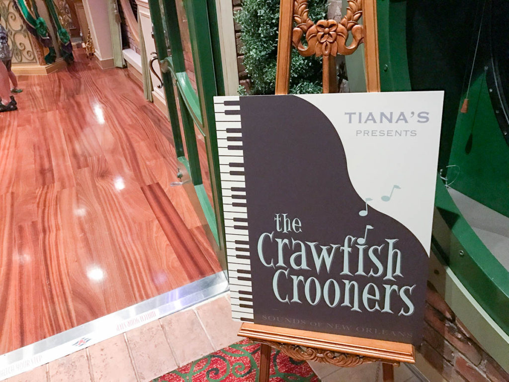 Tiana's Presents The Crawfish Crooners