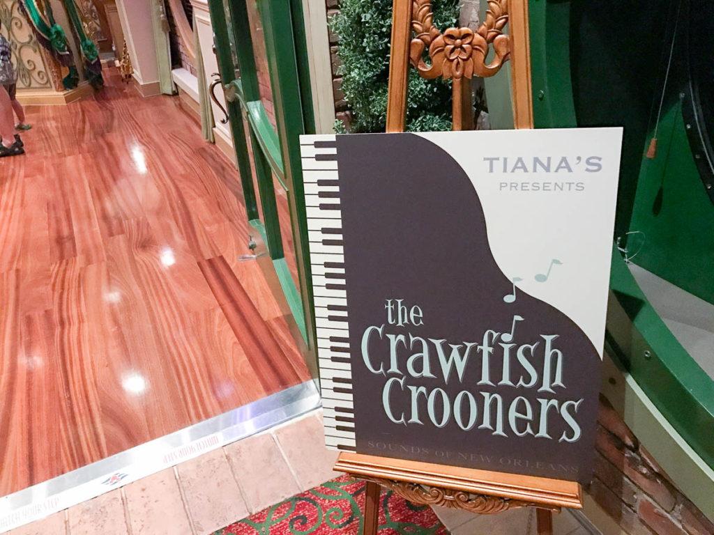 Tiana's Presents The Crawfish Crooners