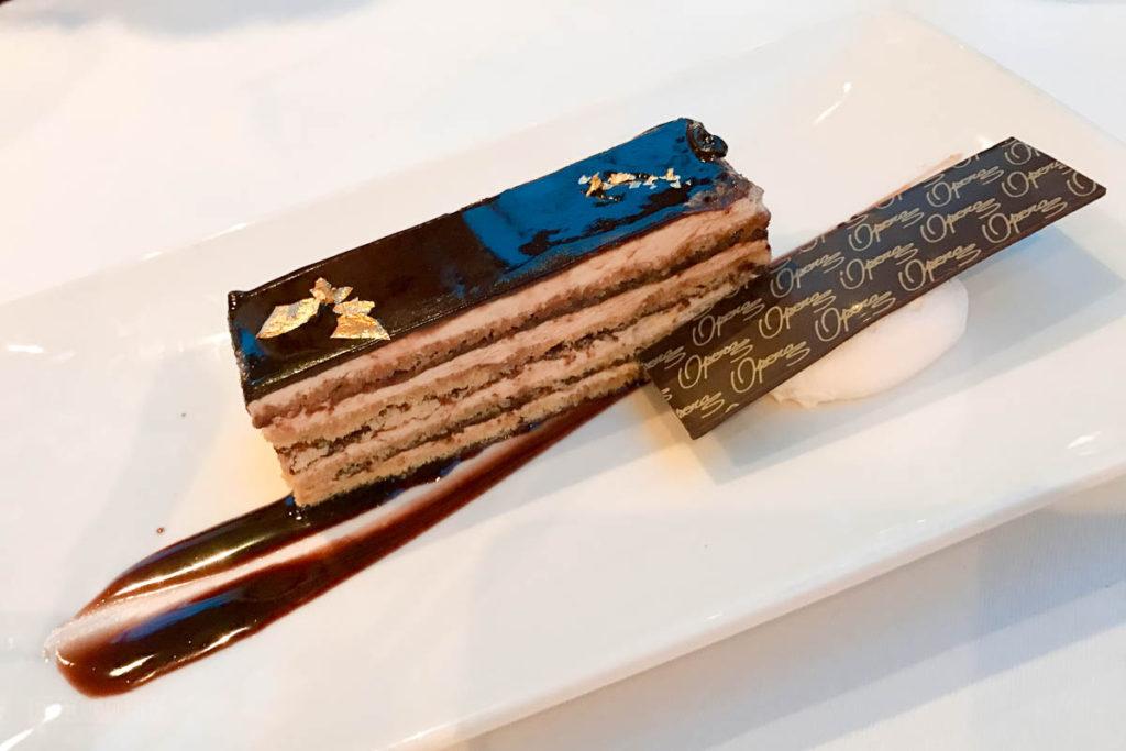 Tritons Dessert Classic Opera Gateau