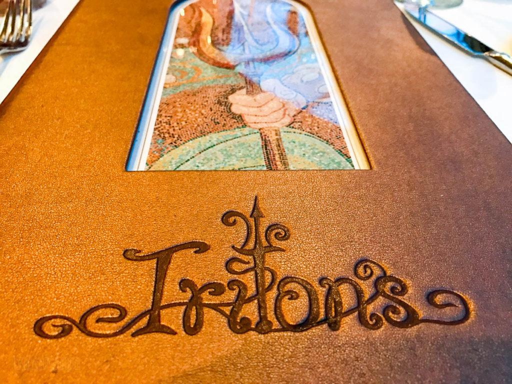 Triton's Menu Cover