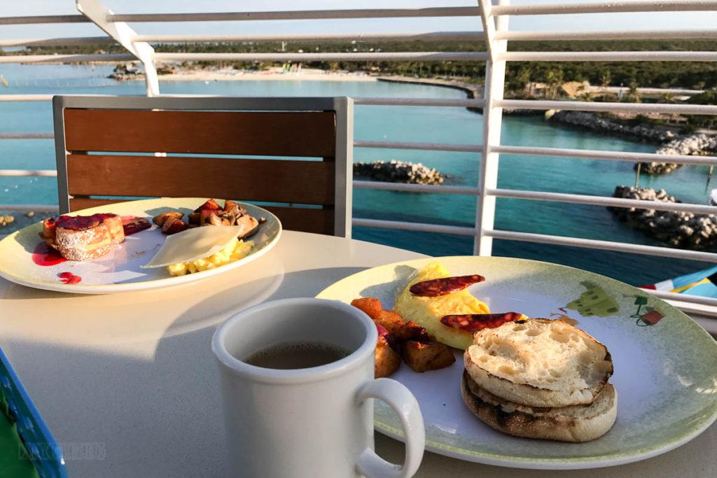Wonder Cabanas Breakfast Castaway Cay