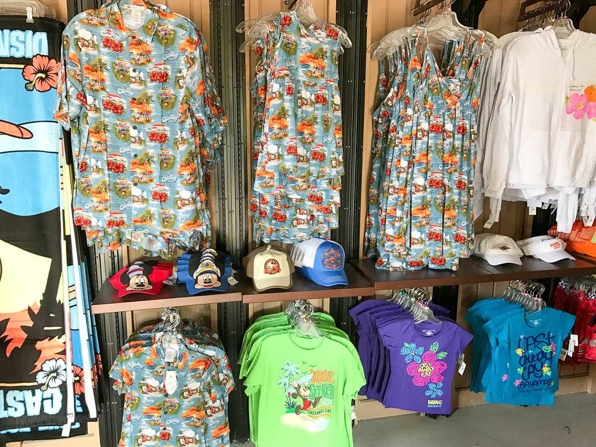Castaway Cay Merchandise Offerings February 2017 The