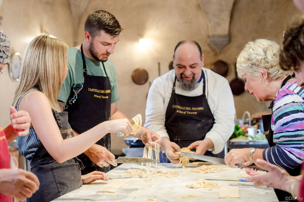 DCL Cooking At Castello Del Trebbio Tuscany Italy