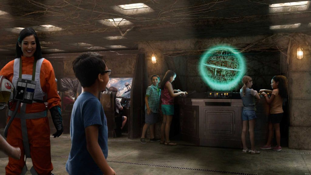 Disney Fantasy Dry Dock 2017 Star Wars Command Post Rendering