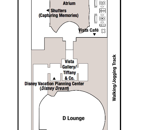 Disney Fantasy Tiffany Company Deck Plan