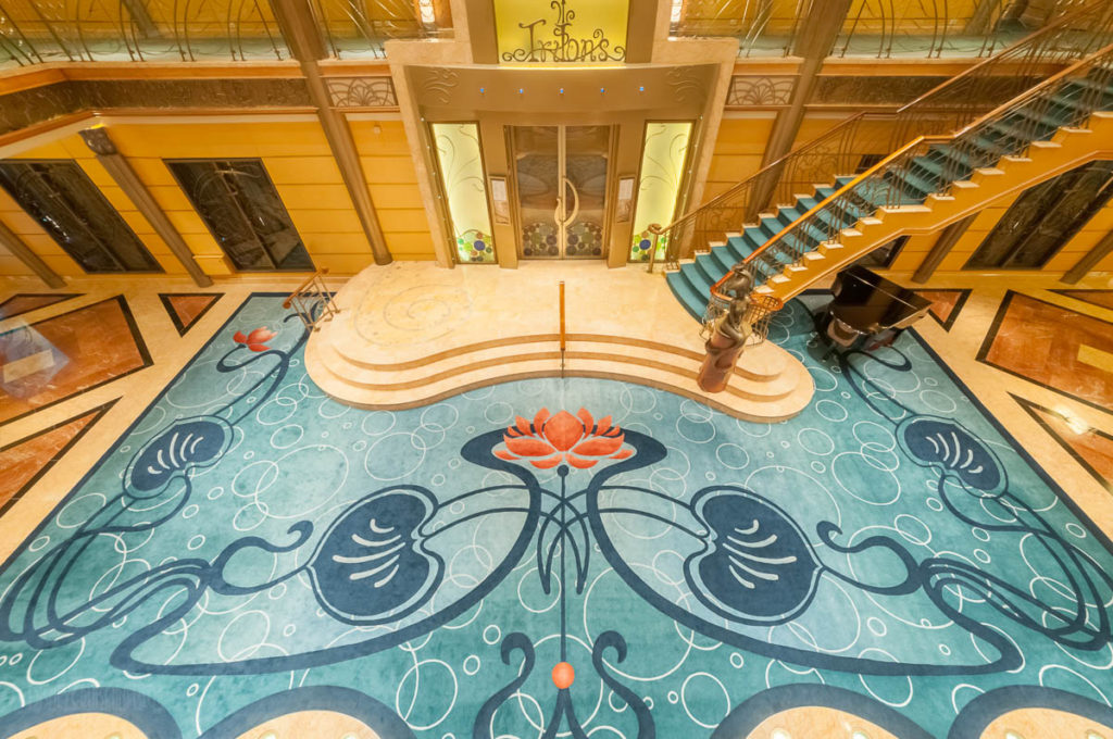 Disney Wonder Re Imagined Atrium Carpet