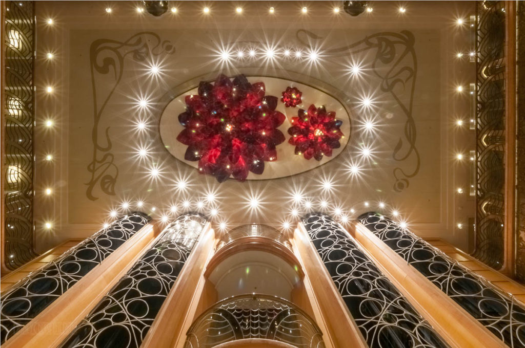 Disney Wonder Re Imagined Atrium Chandelier