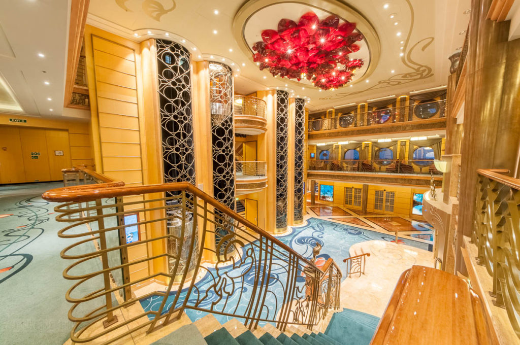 Disney Wonder Re Imagined Atrium Staircase