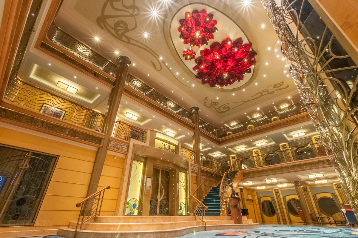 It S All In The Details The Atrium Lobby Of The Re Imagined Disney Wonder The Disney Cruise