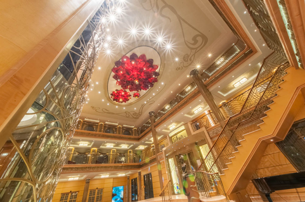 Disney Wonder Re Imagined Atrium