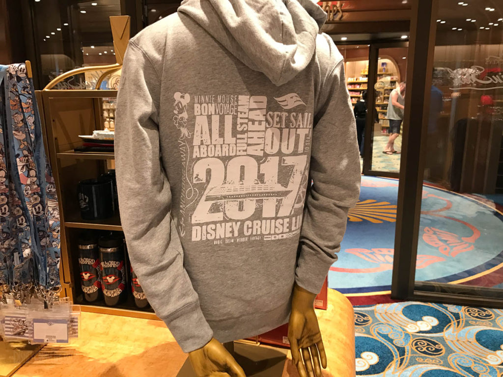 Mickey's MainSail Wonder Merch Feb17 2017 Hoodie