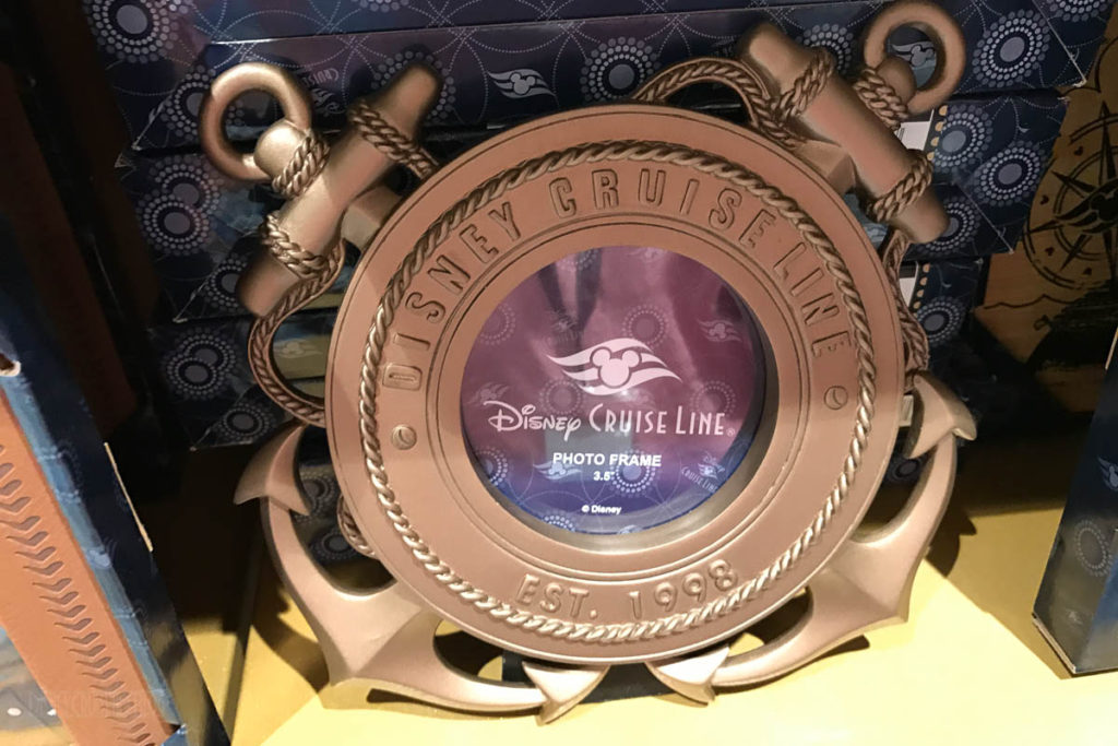 Mickey's MainSail Wonder Merch Feb17 Anchors Photo Frame