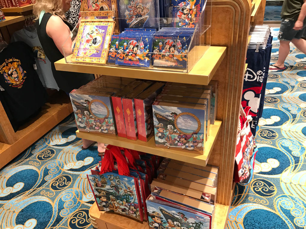 Mickey's MainSail Wonder Merch Feb17 Autographs Photo Albums