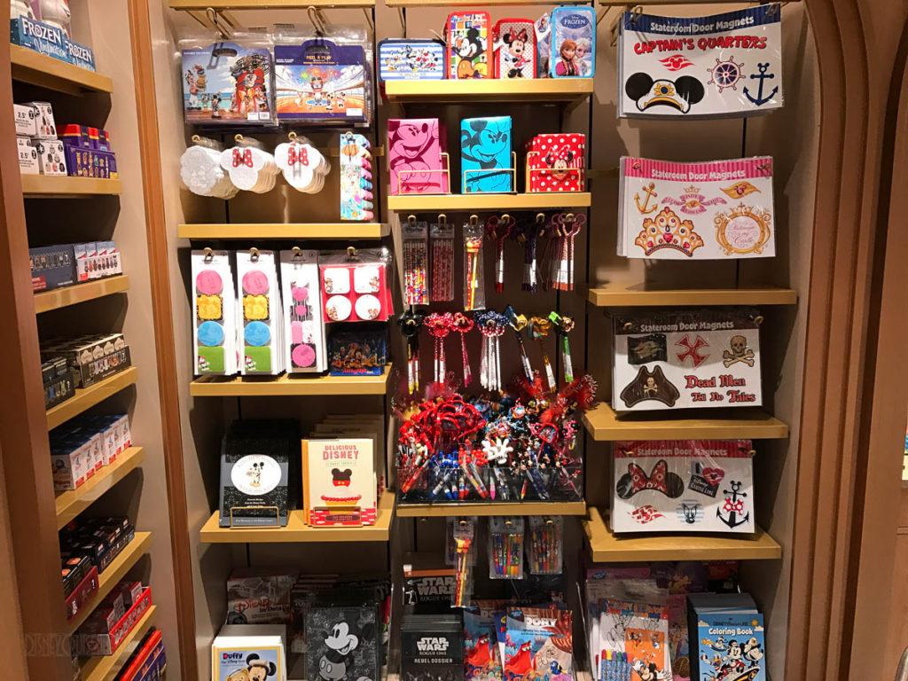 Mickey's MainSail Wonder Merch Feb17 Books Door Magnets Pens Pen