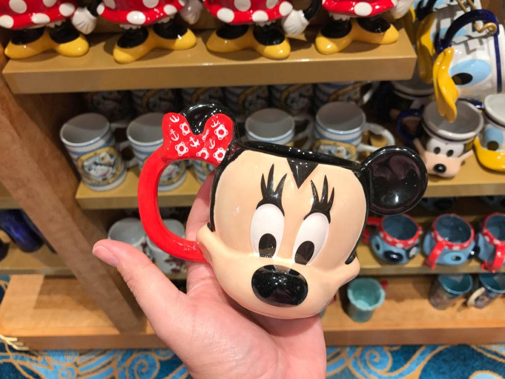 Mickey's MainSail Wonder Merch Feb17 First Mate Minnie Mug