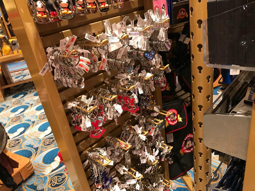Mickey's MainSail Wonder Merch Feb17 Key Chains