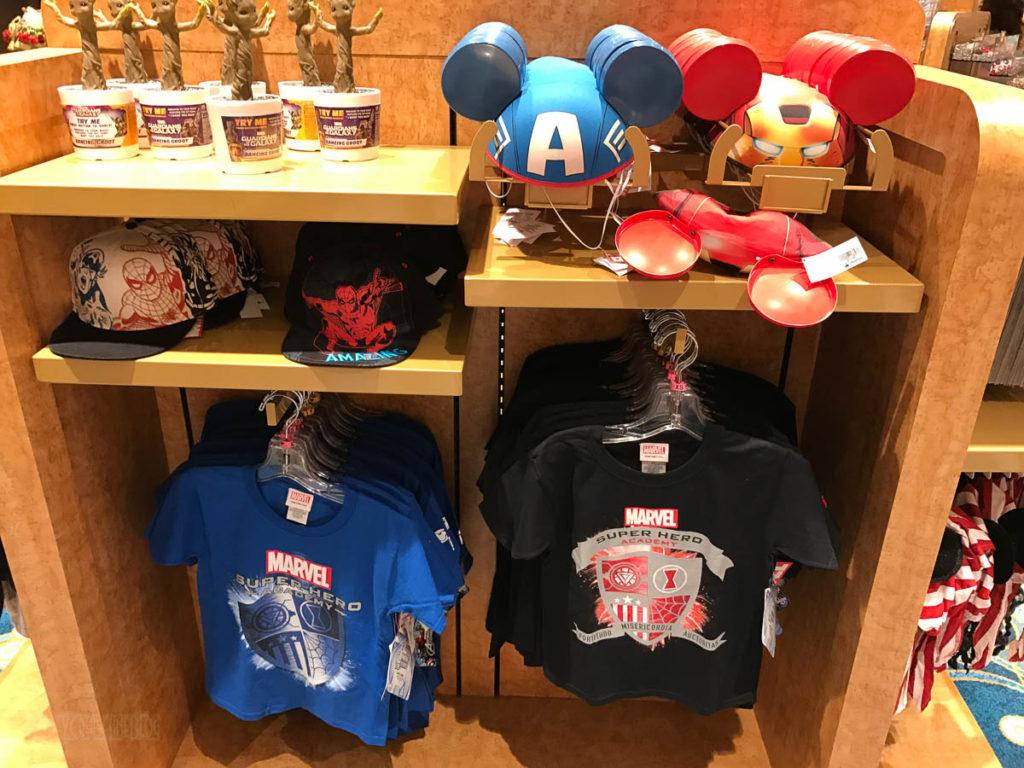 Mickey's MainSail Wonder Merch Feb17 MArvel Super Hero Academy S