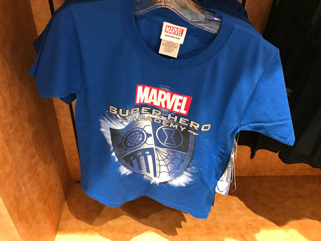Mickey's MainSail Wonder Merch Feb17 Marvel Super Hero Academy S