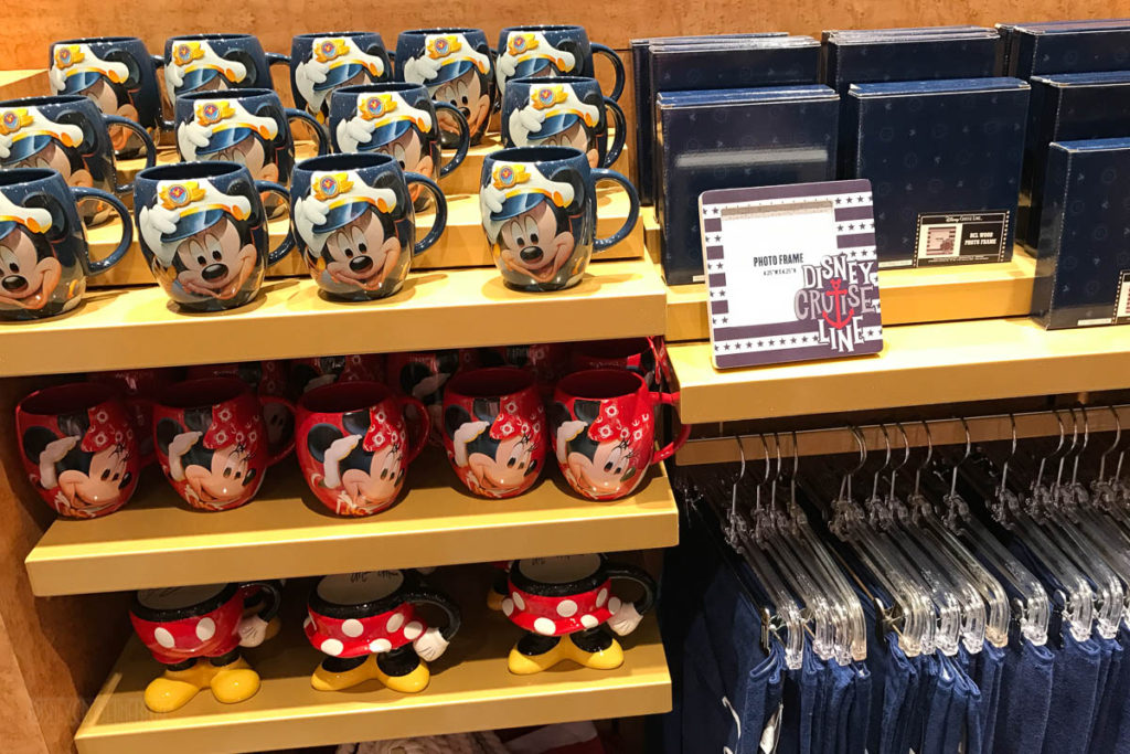 Mickey's MainSail Wonder Merch Feb17 Mugs Frames