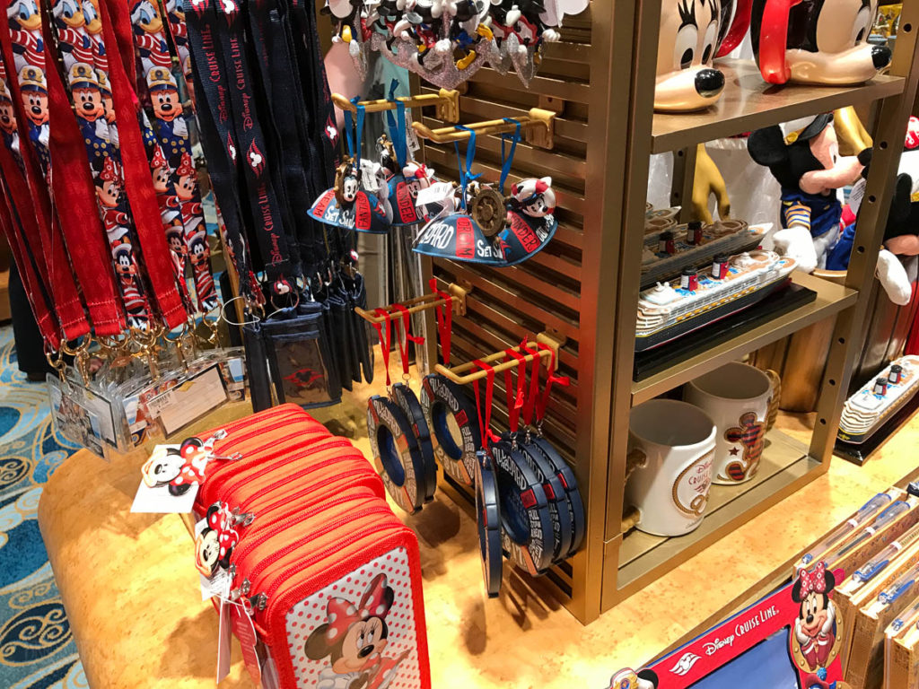 Mickey's MainSail Wonder Merch Feb17 Ornaments Lanyards