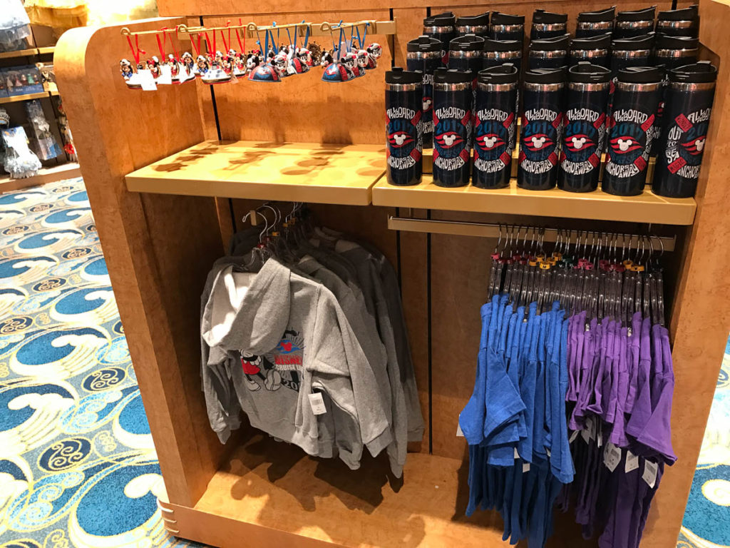 Mickey's MainSail Wonder Merch Feb17 Ornaments Tumber Shirt