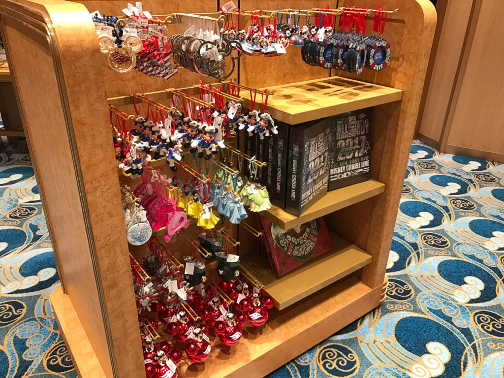Mickey's MainSail Wonder Merch Feb17 Ornaments