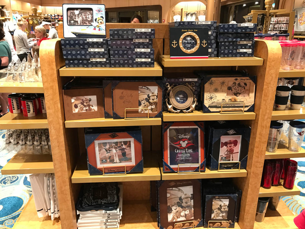 Mickey's MainSail Wonder Merch Feb17 Picture Frames