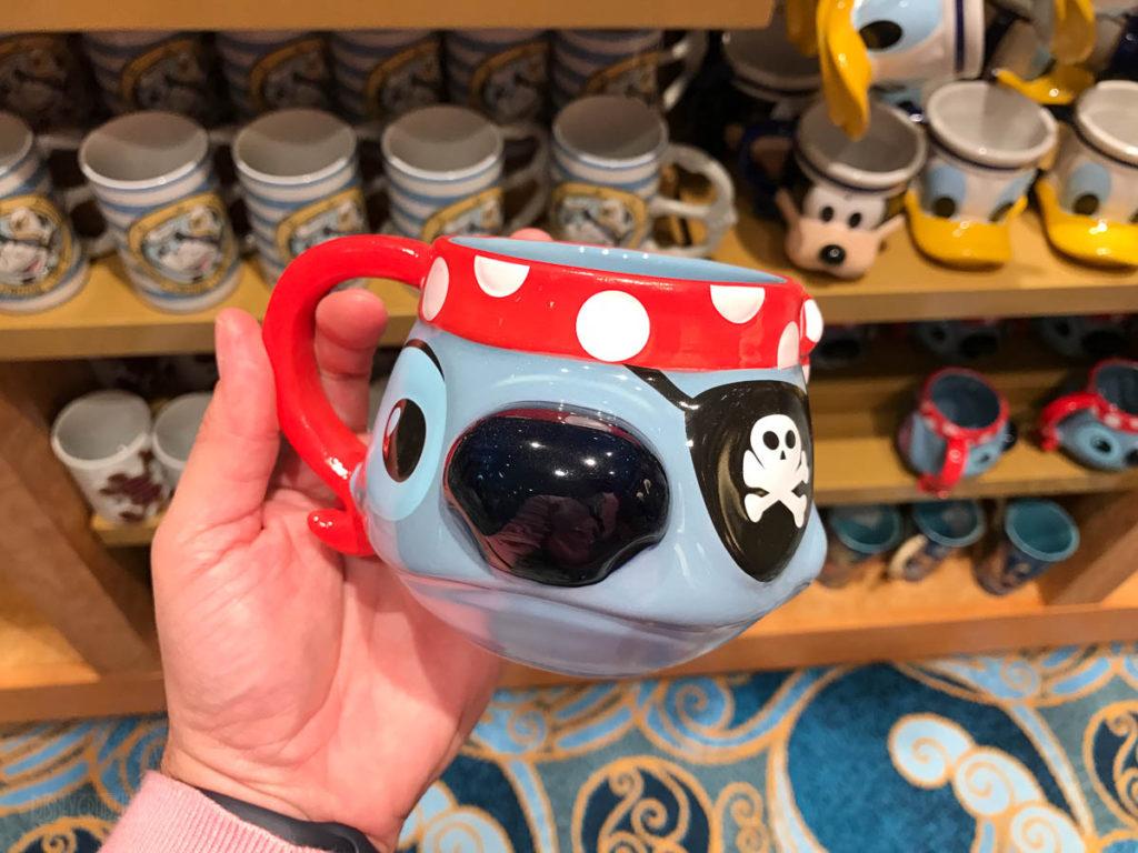Mickey's MainSail Wonder Merch Feb17 Pirate Stitch Mug