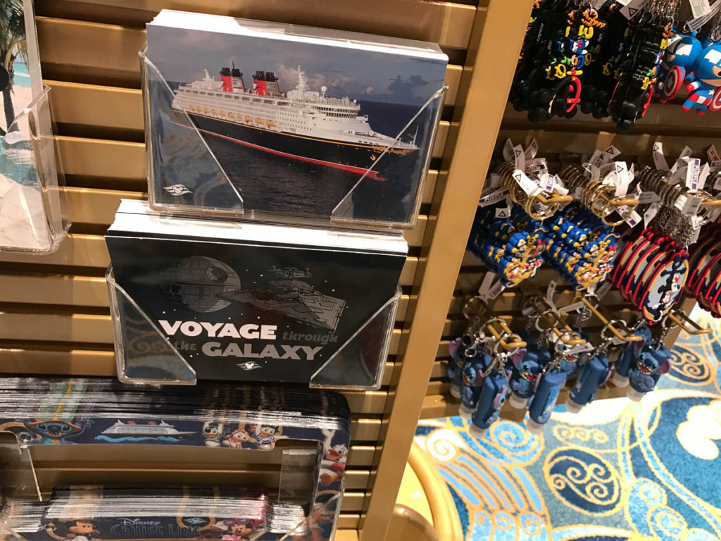 Mickey's MainSail Wonder Merch Feb17 Post Cards