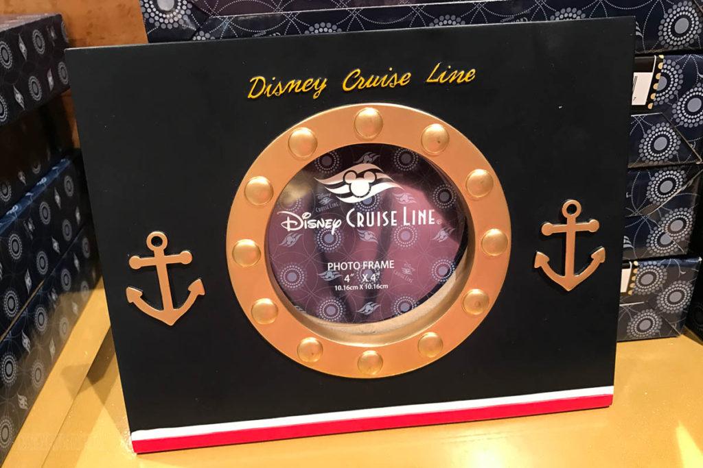 Mickey's MainSail Wonder Merch Feb17 Ship Porthole Photo Frame