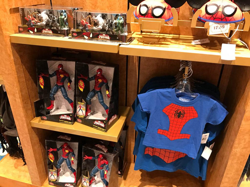 Mickey's MainSail Wonder Merch Feb17 Spider Man