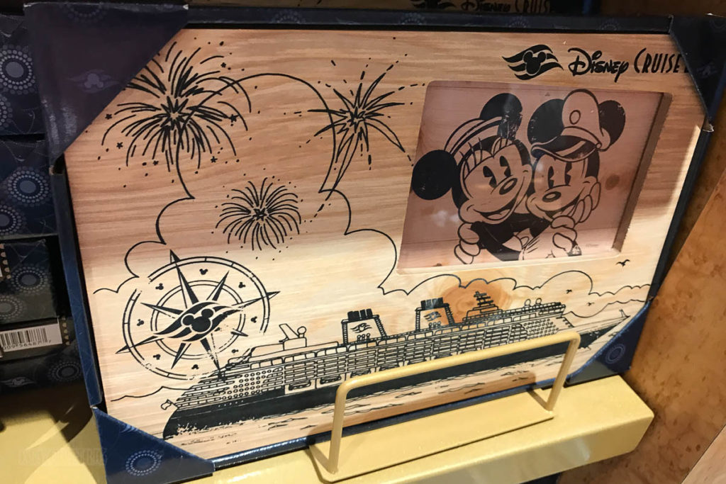 Mickey's MainSail Wonder Merch Feb17 Wood Photo Frame