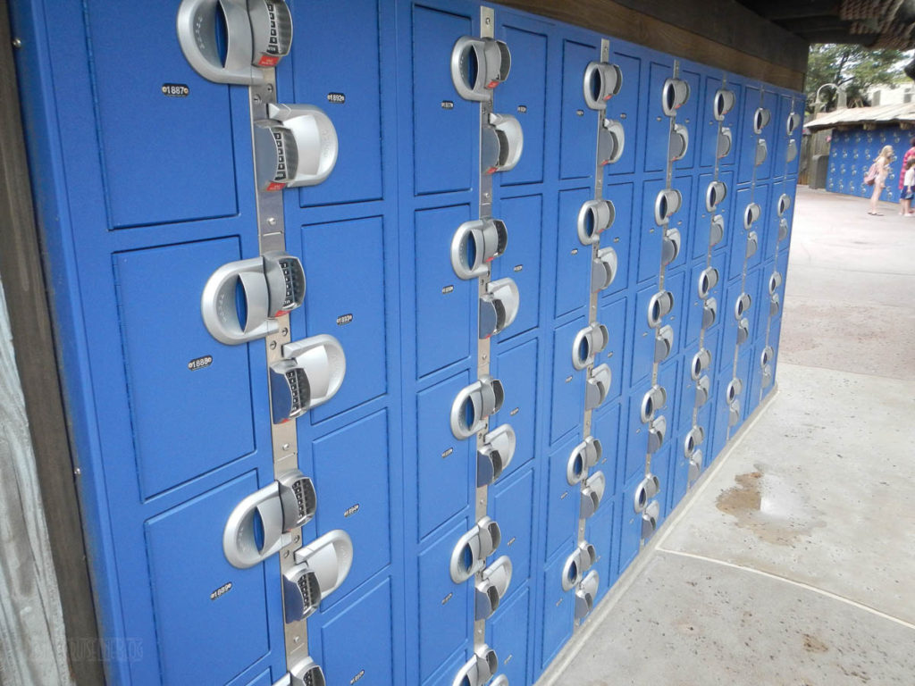 Typhoon Lagoon Lockers